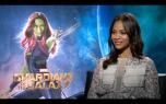 Guardians of the Galaxy: Zoe Saldana