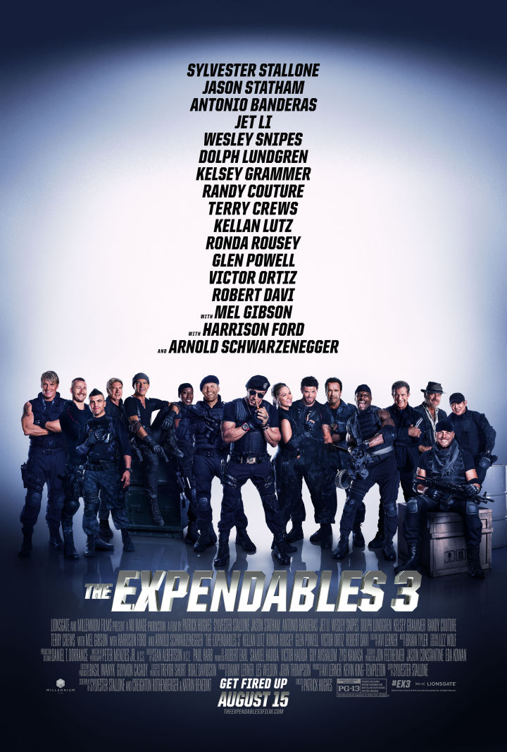 The Expendables 3 Poster
