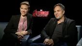 Avengers: Scarlett Johansson & Mark Ruffalo