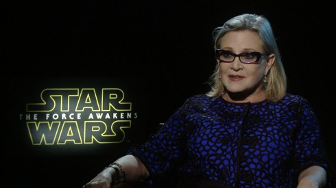 Star Wars - The Force Awakens: Carrie Fisher