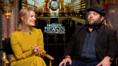 Fantastic Beasts and Where to Find Them: Alison Sudol & Dan Fogler