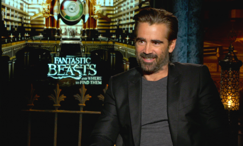 Fantastic Beasts and Where to Find Them: Colin Farrell