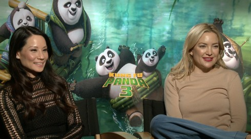 Kung Fu Panda 3: Lucy Liu & Kate Hudson