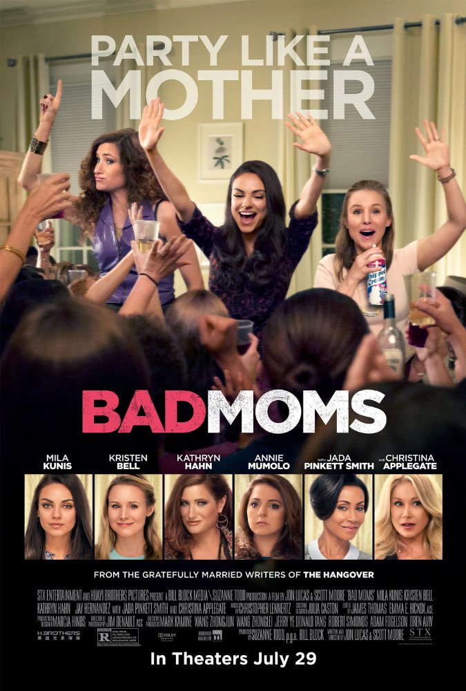 Bad Moms Movie Poster