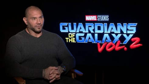 Guardians of the Galaxy 2: Dave Bautista