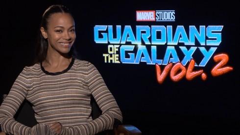 Guardians of the Galaxy 2: Zoe Saldana