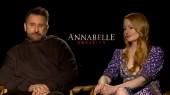 Annabelle Creation: Anthony LaPaglia & Miranda Otto Domestic