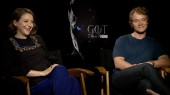 Game of Thrones: Gemma Whelan & Alfie Allen