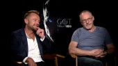 Game of Thrones: Liam Cunningham & Richard Dormer