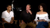 Game of Thrones: Nathalie Emmanuel, Jacob Anderson & Iain Glen