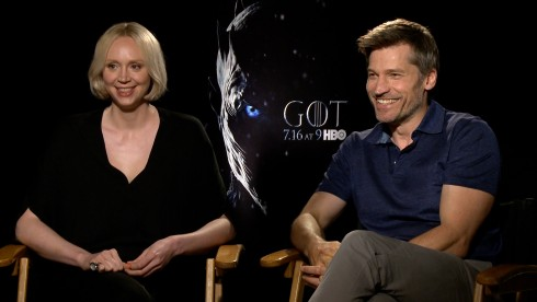 Game of Thrones: Nikolaj Coster-Waldau & Gwendoline Christie