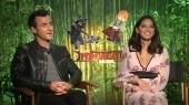 Lego Ninjago Movie: Justin Theroux and Olivia Munn 1
