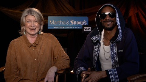 Martha & Snoop's Potluck Dinner Party: Martha & Snoop
