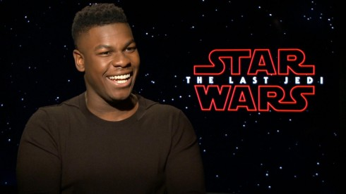 Star Wars The Last Jedi: John Boyega
