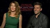 Star Wars The Last Jedi: Laura Dern & Oscar Isaac