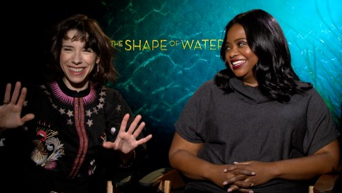 The Shape Of Water: Octavia Spencer & Sally Hawkins