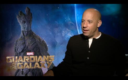 Guardians of the Galaxy: Vin Diesel