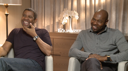 The Equalizer: Denzel Washington & Antoine Fuqua