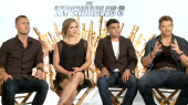 The Expendables: Kellan Lutz, Ronda Rousey, Victor Ortiz, Glen Powell