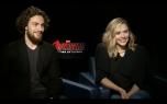 Avengers: Aaron Taylor Johnson & Elizabeth Olsen