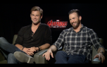 Avengers: Age of Ultron: Chris Evans & Chris Hemsworth