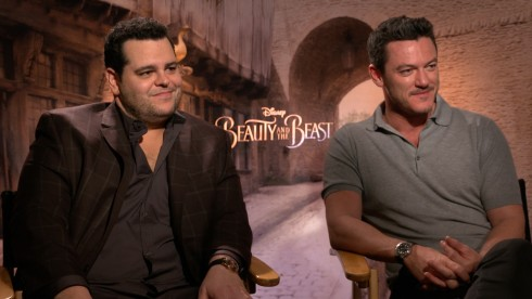 Beauty and the Beast: Luke Evans & Josh Gad