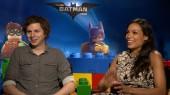 Lego Batman: Michael Cera & Rosario Dawson