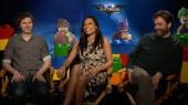 Lego Batman: Michael Cera, Rosario Dawson & Zach Galifianakis