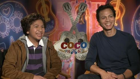 Coco: Benjamin Bratt & Anthony Gonzalez