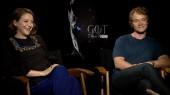 Game of Thrones: Gemma Whelan & Alfie Allen
