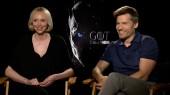 Game of Thrones: Nikolaj Coster-Waldau & Gwendoline Christie