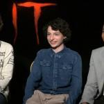 IT: Finn Wolfhard, Wyatt Oleff, Chosen Jacobs