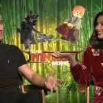 Lego Ninjago Movie: Justin Theroux and Olivia Munn 2