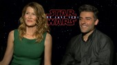 Star Wars The Last Jedi: Laura Dern & Oscar Isaac